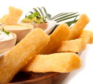 Frite de manioc
